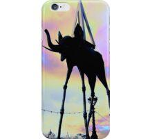 __surreal dali elephant iPhone Case/Skin