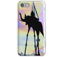 __surreal dali elephant iPhone Case/Skin