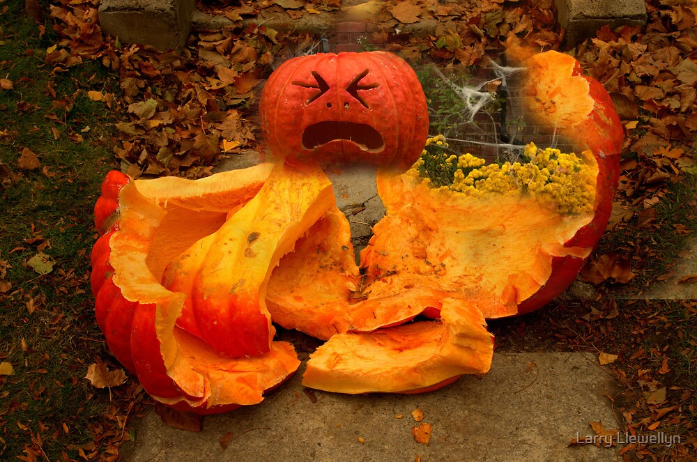 The Fall of The Great Pumpkin... by Larry Llewellyn