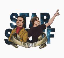 I AM STAR STUFF: Brian Cox and Carl Sagan V2.0 by dmbarnham