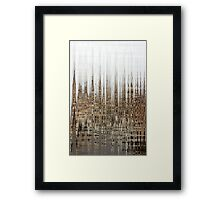 Eco Dystopia Framed Print