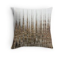 Eco Dystopia Throw Pillow