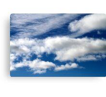 Blue Sky Wall Art Canvas Print