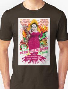 John Waters Pink Flamingos Divine Cult Movie  Unisex T-Shirt