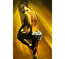 Chantilly - Steampunk Burlesque Painting Photographic Print