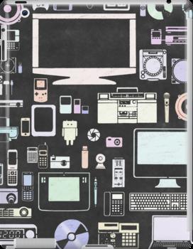 gadgets icon set by naphotos