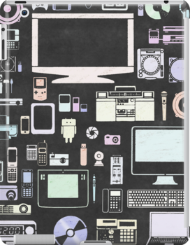 gadgets icon set by naphotos
