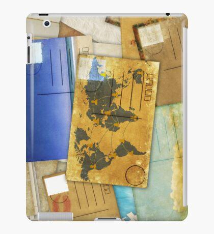 postcard iPad Case/Skin