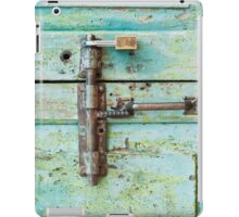 old door handle iPad Case/Skin