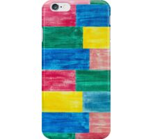colorful wood iPhone Case/Skin
