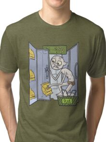 Gollum goes to the Grocery Tri-blend T-Shirt