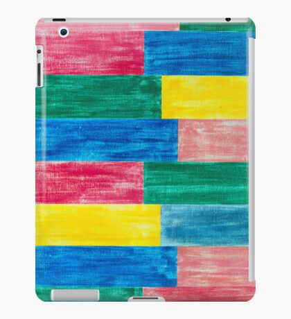 colorful wood iPad Case/Skin