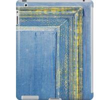 retro wooden door iPad Case/Skin