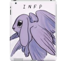 MBTI GHOSTS AND GHOULS- ANGEL BUNNY RABBIT iPad Case/Skin