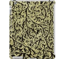 golden dragon pattern iPad Case/Skin