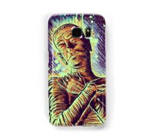 The Mummy Art joe badon universal monster monsters bandages horror classic movie film Boris Karloff Halloween Egyptian prince Imhotep Samsung Galaxy Case/Skin