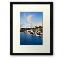 relax place Framed Print