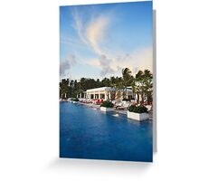 relax place Greeting Card