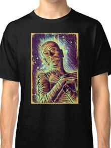 The Mummy Art joe badon universal monster monsters bandages horror classic movie film Boris Karloff Halloween Egyptian prince Imhotep Classic T-Shirt