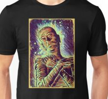 The Mummy Art joe badon universal monster monsters bandages horror classic movie film Boris Karloff Halloween Egyptian prince Imhotep Unisex T-Shirt
