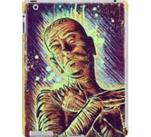 The Mummy Art joe badon universal monster monsters bandages horror classic movie film Boris Karloff Halloween Egyptian prince Imhotep iPad Case/Skin