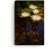 Angelic lilies Canvas Print