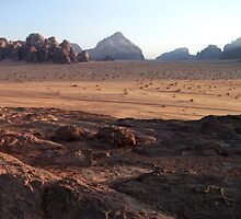 wadi-rum by evonealawi