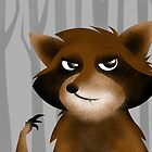 Raccoon by makoshark