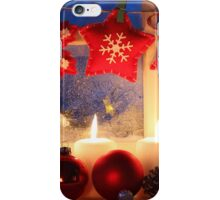 Christmas family time iPhone Case/Skin