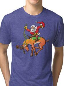 Christmas Rodeo Tri-blend T-Shirt