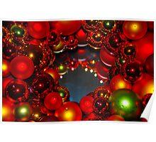 Cindi's Christmas Wreath Poster