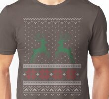 Chunky Christmas Colours Knit Unisex T-Shirt