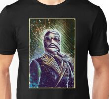 Invisible Man art print universal monster monsters cult classic classics horror sci fi science fiction bandage bandages joe badon halloween christmas Unisex T-Shirt