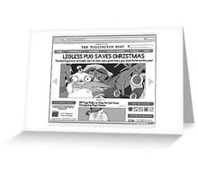 2013 Calendar December Greeting Card