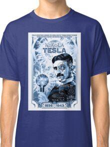 Inventor Nikola Tesla. Thomas Edison. Electricity Classic T-Shirt