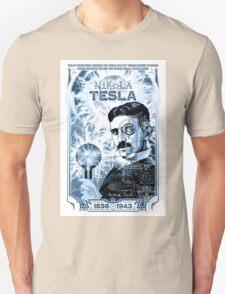 Inventor Nikola Tesla. Thomas Edison. Electricity T-Shirt