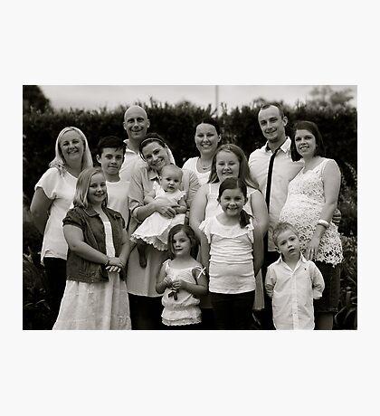 Craven Family  Photographic Print
