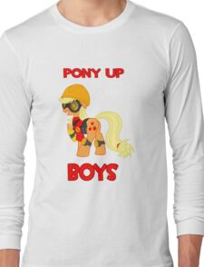 Pony up boys Long Sleeve T-Shirt