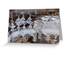 Ice art - 15 Greeting Card