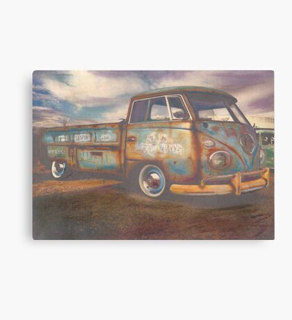 Transport Truck Canvas Print