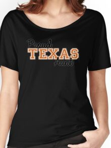 Proud Texas Aunt for Dark Backgrounds Women's Relaxed Fit T-Shirt