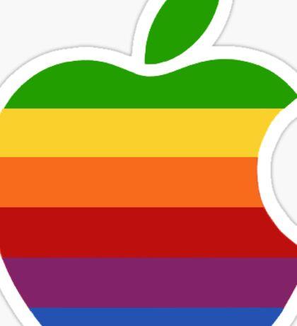 Old Apple Logo Sticker