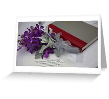 Marriage Certificate Greeting Card