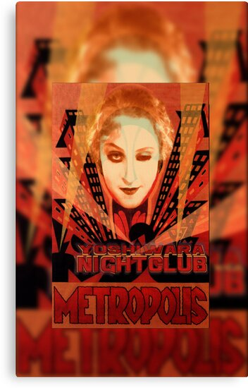METROPOLIS - Yoshiwara Nightclub by dennis william gaylor