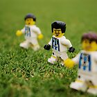 Lego Soccer Players by robertsscholes