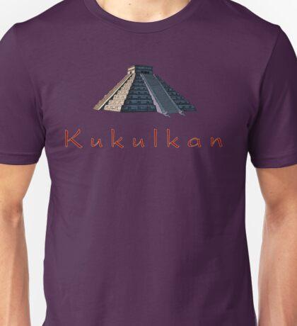 Pyramid of Kukulkan Unisex T-Shirt