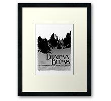 dharma bums - matterhorn peak Framed Print