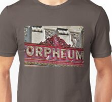 Sign for the Orpheum Theater in Madison, WI Unisex T-Shirt