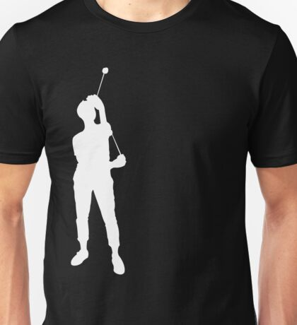 Yoyo Single A Silhouette White Unisex T-Shirt