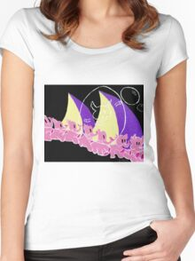 Here They Come Women's Fitted Scoop T-Shirt